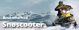 Brukt snøscooter