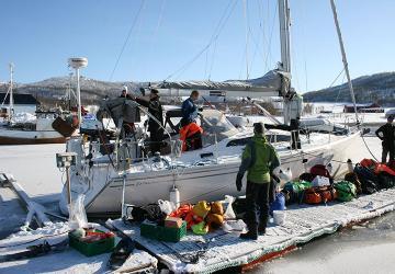 Vinterseilas og topptur til Lofoten