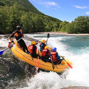 Rafting i Valldal